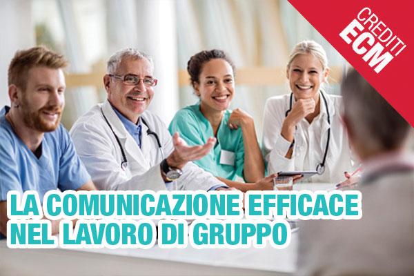 """5 giugno 2019 - Corso ECM """"La Comunicazione Efficace nel Lavoro di Gruppo """". 4 appuntamenti."""
